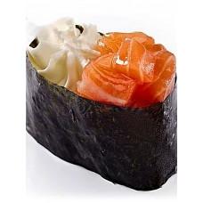 Суши-крим с лососем 1 шт.
